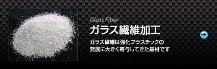 Glass fiber processing